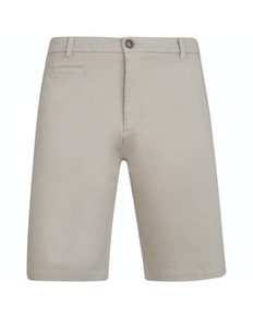KAM Stretch Chino Shorts Stone