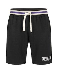 KAM Casual Jogger Shorts Black