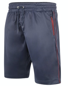 KAM Tricot Fabric Sport Shorts Navy