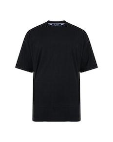 KAM Plain T-Shirt Black