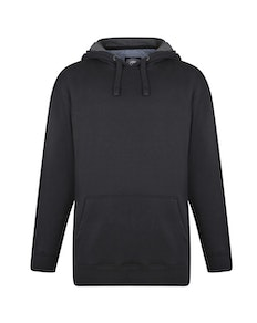 KAM Crew Neck Hoody Black