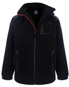 KAM Soft Shell Perfomance Jacket Black