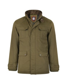 KAM Padded Casual Jacket Olive