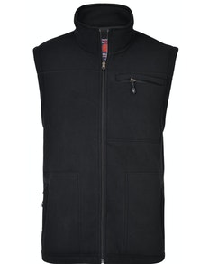 KAM Bonded Fleece Gilet