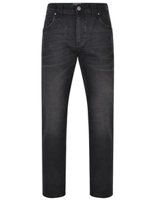 KAM Stretch Fashion Jeans Black
