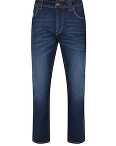 KAM Stretch Fashion Jeans Dark