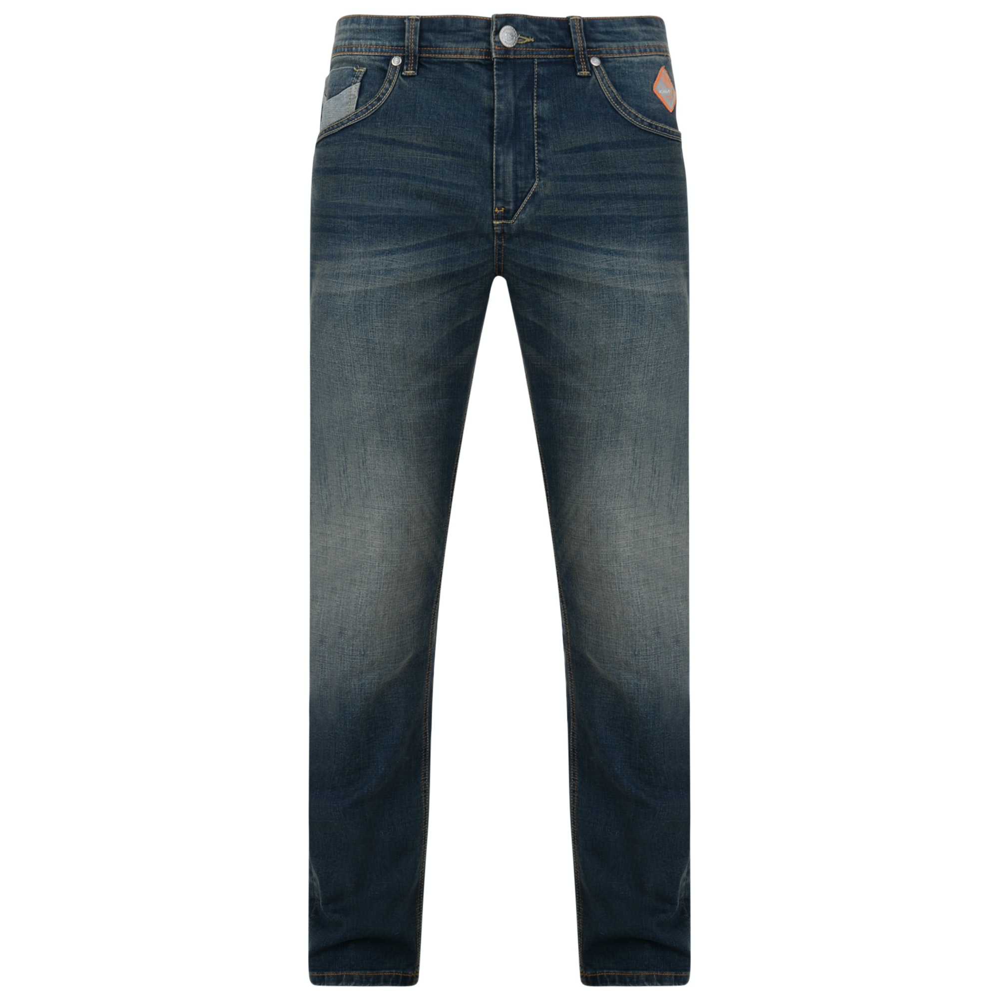 KAM Ruben Fashion Jeans Blue Tall