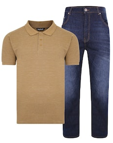 Bigdude Polo Shirt & Jeans Bundle 1