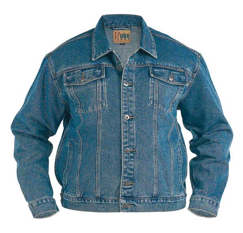 Duke Western Style Trucker Denim Jacket