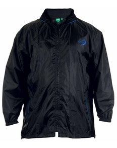 D555 Zac Packaway Rain Jacket - Black