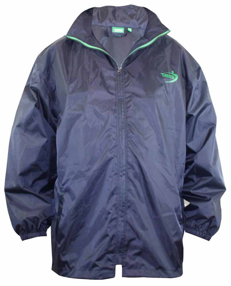 D555 Zac Packaway  Rain Jacket - Navy