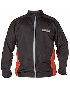 D555 Hoy Windproof Cycling Jacket Black