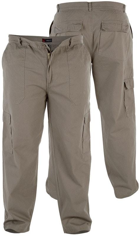 Duke Sand Cotton Cargo Pants