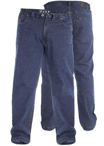 Duke Elasticated Waist Stretch Denim Jeans