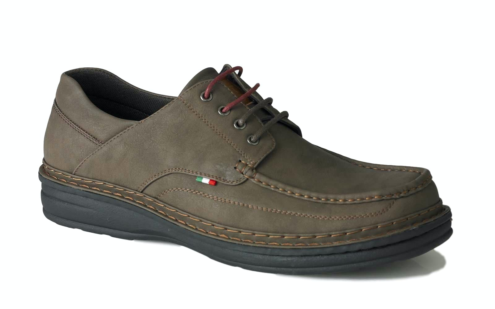 D555 Drake Casual Lace Up Shoe Brown