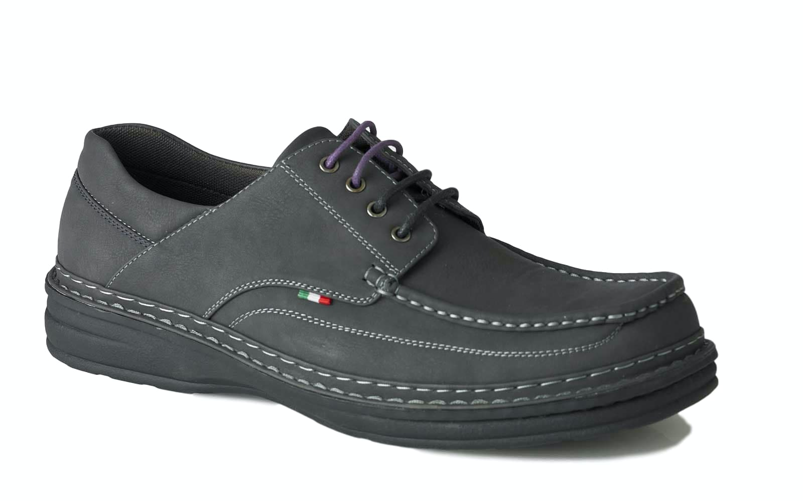 D555 Drake Casual Lace Up Shoe Black
