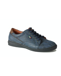 D555 Darren Casual Lace Up Shoe Navy