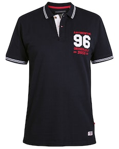 D555 Bartley Applique Polo Shirt Navy