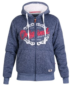 D555 Rylan Full Zip Hoody Navy