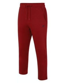 Bigdude Open Hem Loop Back Joggers Burgundy