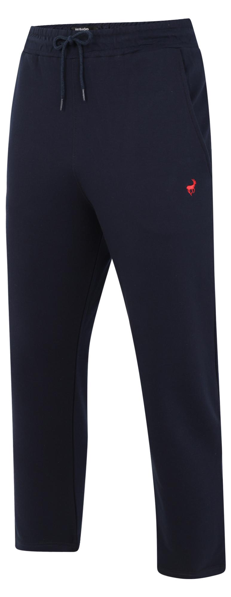 Mens Big Size Joggers Trousers Bottoms Open Hem Short Or Regular Leg 2-8XL KAM