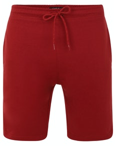 Bigdude Loop Back Jogger Shorts Burgundy