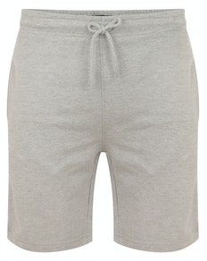 Bigdude Loop Back Jogger Shorts Grey Marl