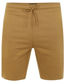 Bigdude Loop Back Jogger Shorts Khaki
