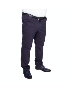 Carabou Expand-A-Band Rib Chino Navy