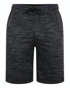 Bigdude Inkjet Marl Shorts Charcoal