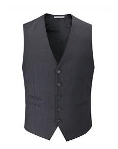 Skopes Superfine Twill Waistcoat- Charcoal