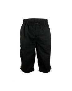 D555 Mason Black Cargo Capri Pant with Leg Pocket