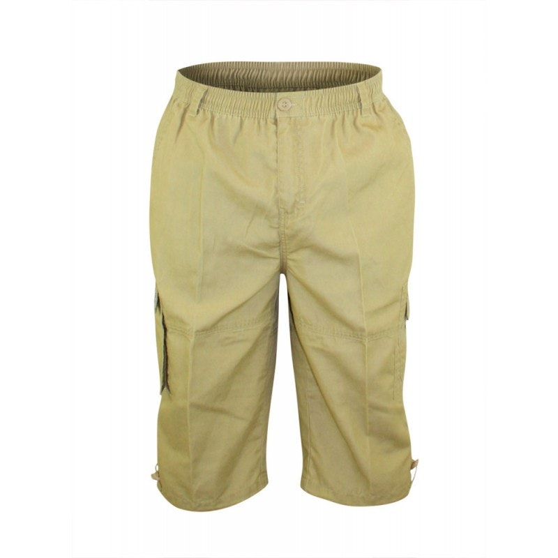 D555 Mason Sand Cargo Capri Pant with Leg Pocket