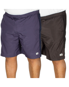 Bigdude Mesh Panel Shorts Twin Pack Black/Navy