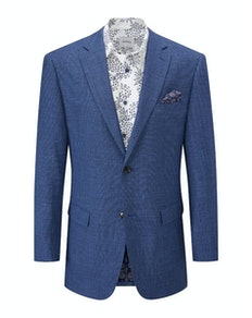 Skopes Corallo Textured Blazer Blue