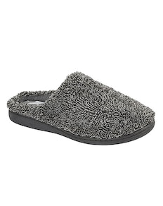 Zedzzz Noah Soft Touch Slipper Grey