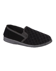 Zedzzz Kevin Twin Gusset Slipper Black