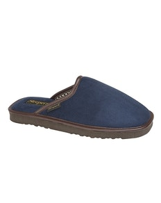 Sleepers Stephen Mule Slippers Navy