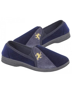 Zedzzz Navy Aaron Twin Gusset Slipper Navy