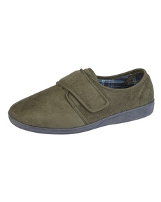 Sleepers Tom Memory Foam Slippers Khaki