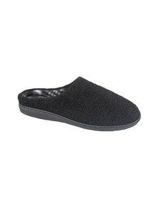 Zedzzz Black Tony Mule Slipper