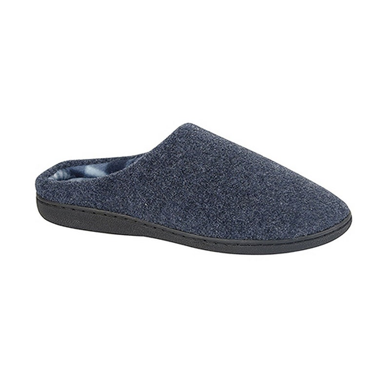 Zedzzz Navy Tony Mule Slipper