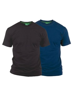 D555 Fenton Navy and Black Multipack T-Shirts