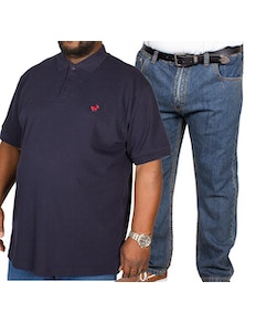 Bigdude Polo Shirt & Jeans Bundle 7