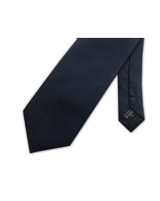 Knightsbridge Extra Long Micro Grid Tie Blue
