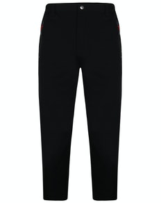 Bigdude Water Repellent Walking Pants Black