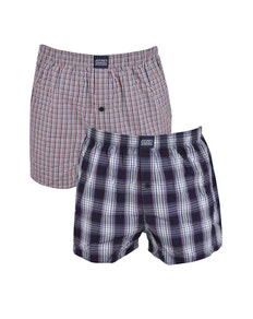 Jockey 2 Pack Boxer Shorts - Stonewash