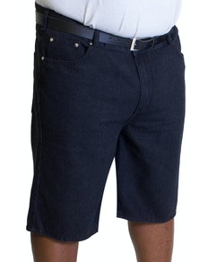 Bigdude Lightweight Denim Shorts Black Wash