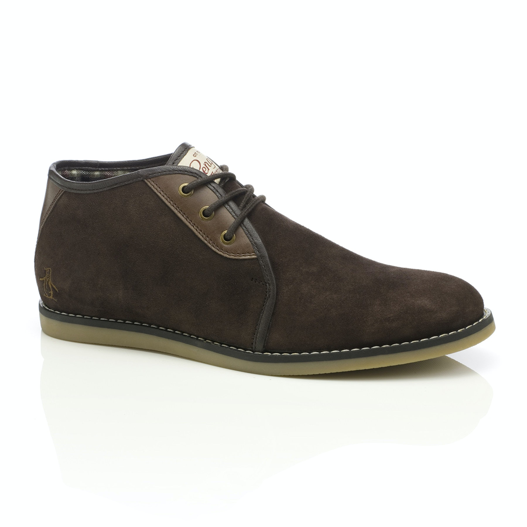 Original Penguin Legal Suede Desert Boot Brown
