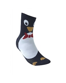 D555 Carols Christmas Socks - Penguin